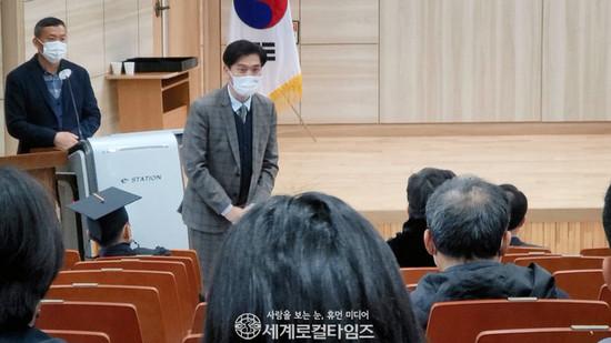 """[포토] """"김제시 비서실장님 오셨습니다"""""""